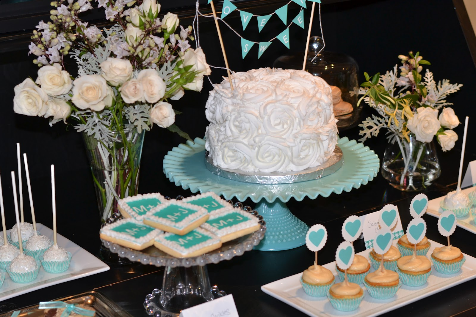 A Silver Nutmeg Tiffany Blue Bridal Shower