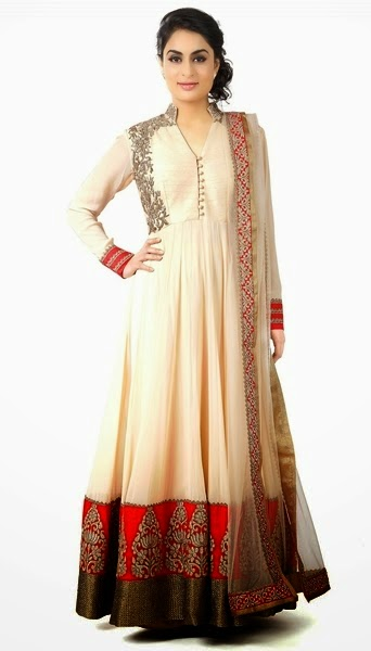Formal Floor Length Anarkali Indian Dresses