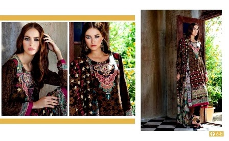 Firdous Collection Digital Printed Linen