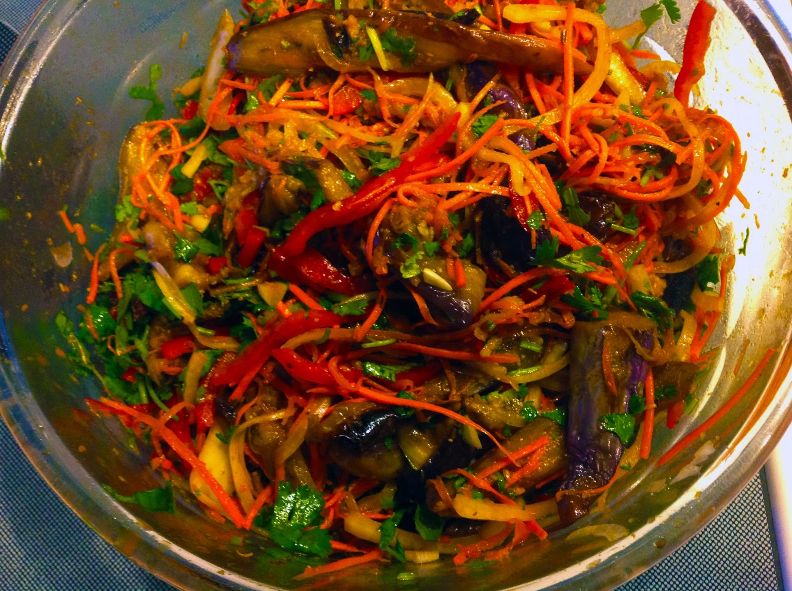 Баклажаны по-корейски: рецепт очень вкусной закуски