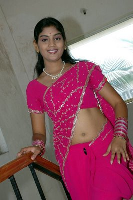 karuna star mallu in pink saree album hot images