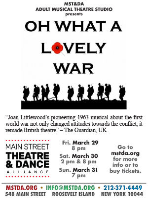 MST&DA Presents Oh What A Lovely War