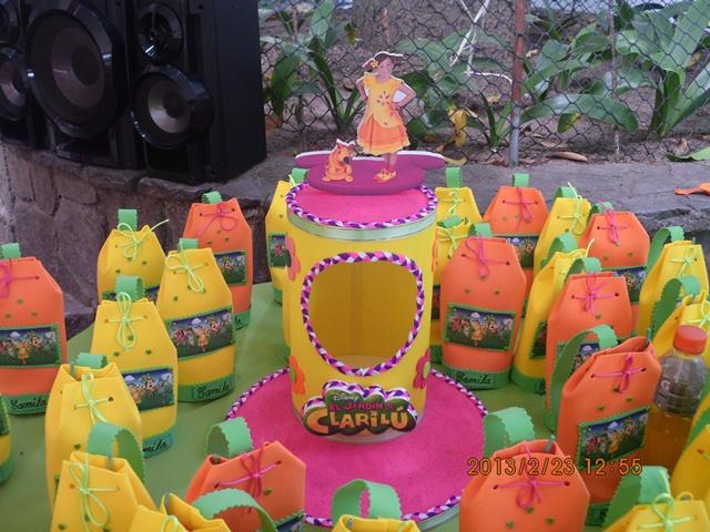 Lo mejor para sus fiestas infantiles fiesta del jardin de - Decoracion del jardin ...