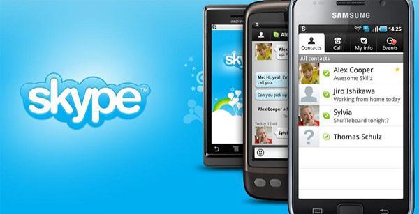 Skype para Android mejora el soporte para tablets
