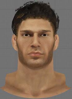 NBA 2K13 Brook Lopez Cyberface Patch