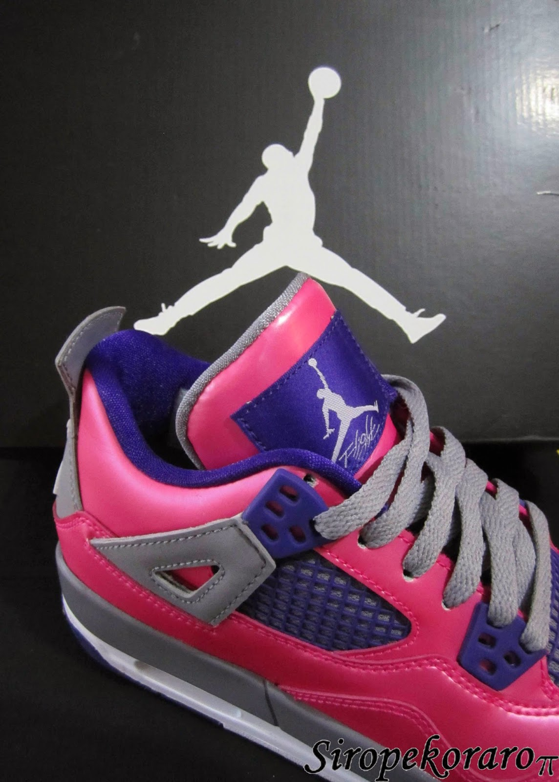 Air Jordan 3 fucsia