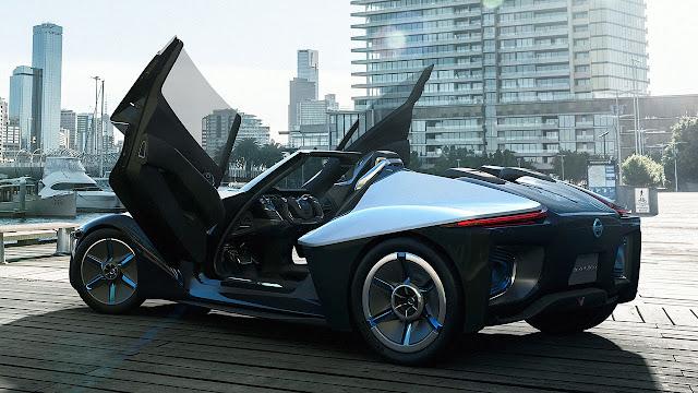 Nissan Bladeglider Concept doors