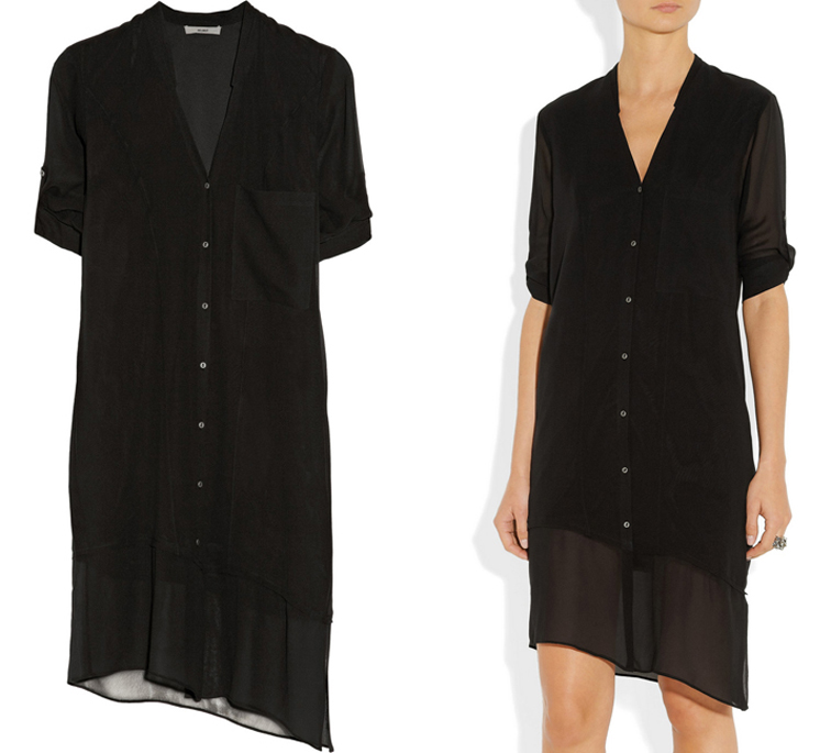 Helmut Lang Silk Voile summer Dress