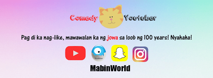 Pinoy Comedy Youtuber Si Mabin World