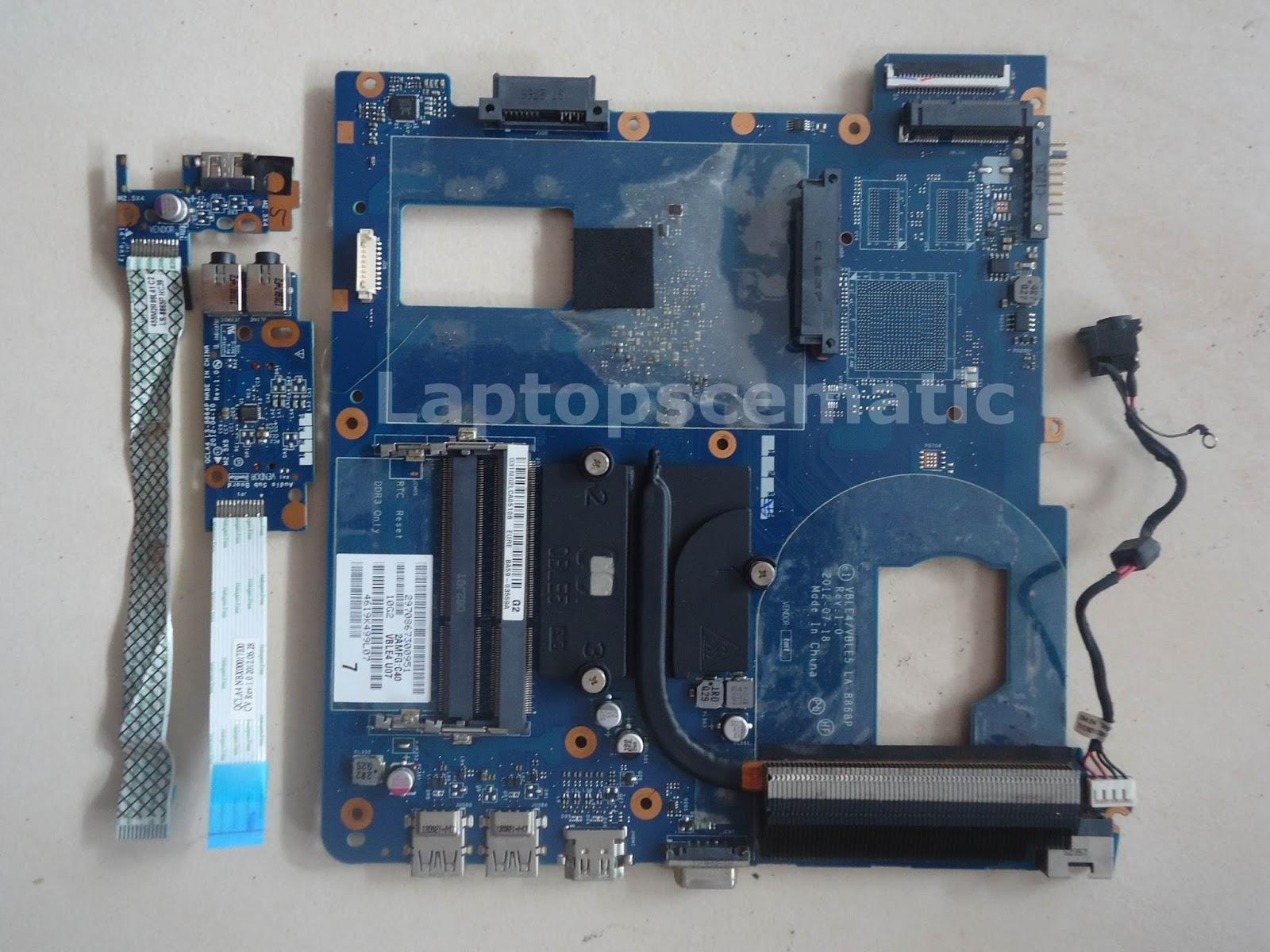 Motherboard Samsung Np355e5x