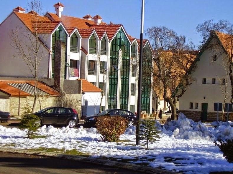 تتميز منازل افران بطبيعتها السويسرية