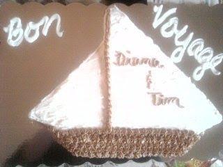 Bon Voyage cake