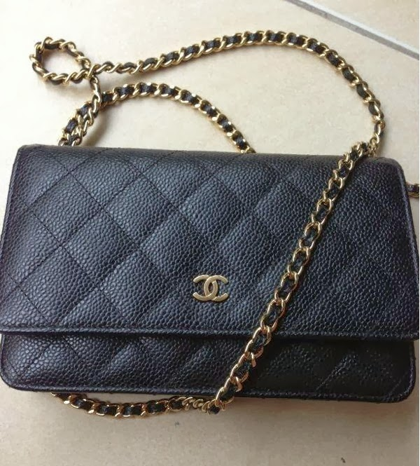 Chanel Classic Quilted WOC Caviar in Black : chanel woc classic quilted bag - Adamdwight.com