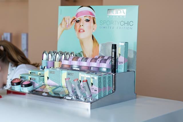 Moovenails nail bar concept Pupa cosmetics retailer