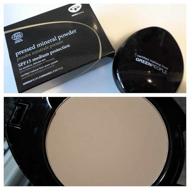 Green People Pressed Mineral Powder