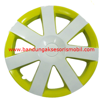 Dop Roda White+Yellow WJ-5043 (13)