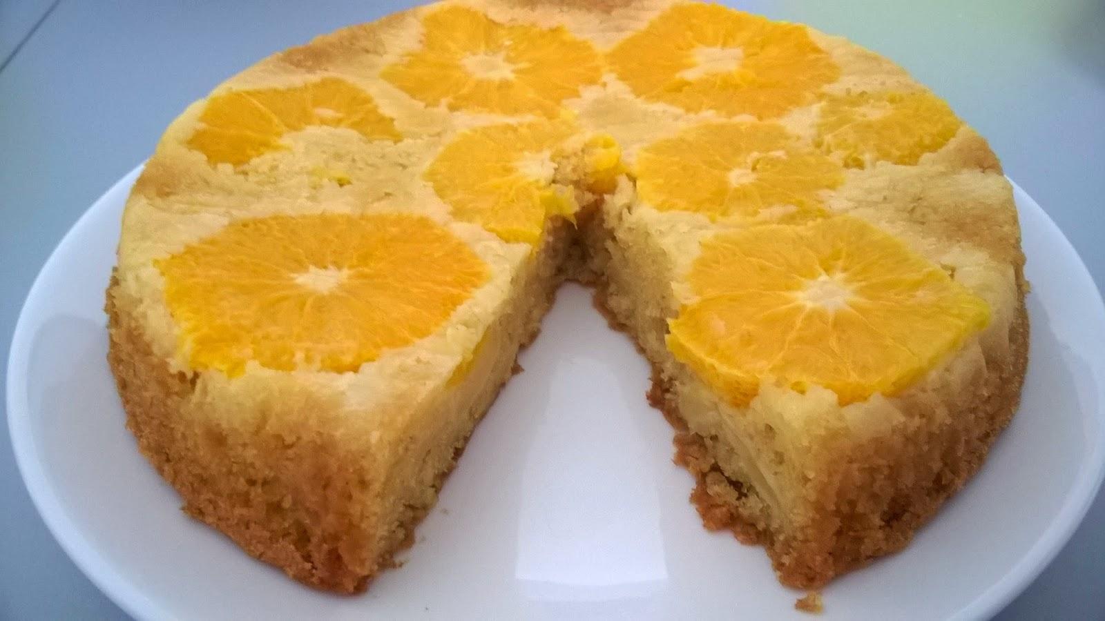 Gâteau oranges-pommes
