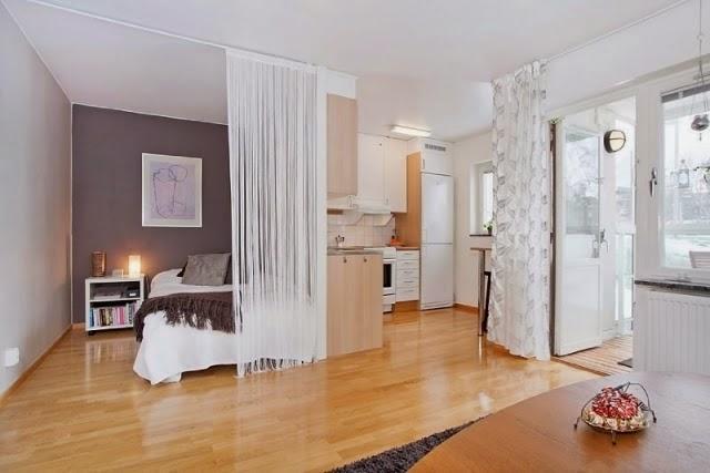 Decotips c mo dividir ambientes en un dormitorio abierto - Dividir ambientes ...