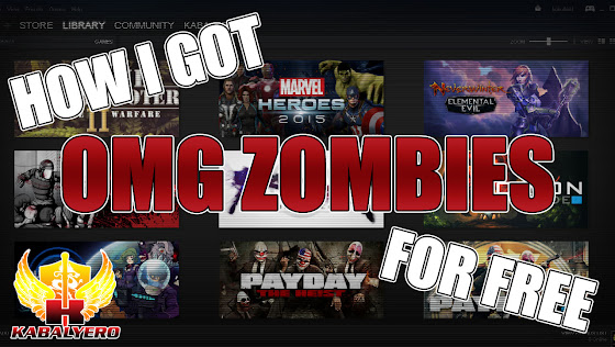 How I Got OMG Zombies For Free ★ How To Get A Paid STEAM Game Free