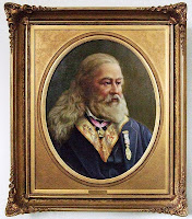 Albert Pike, ritratto