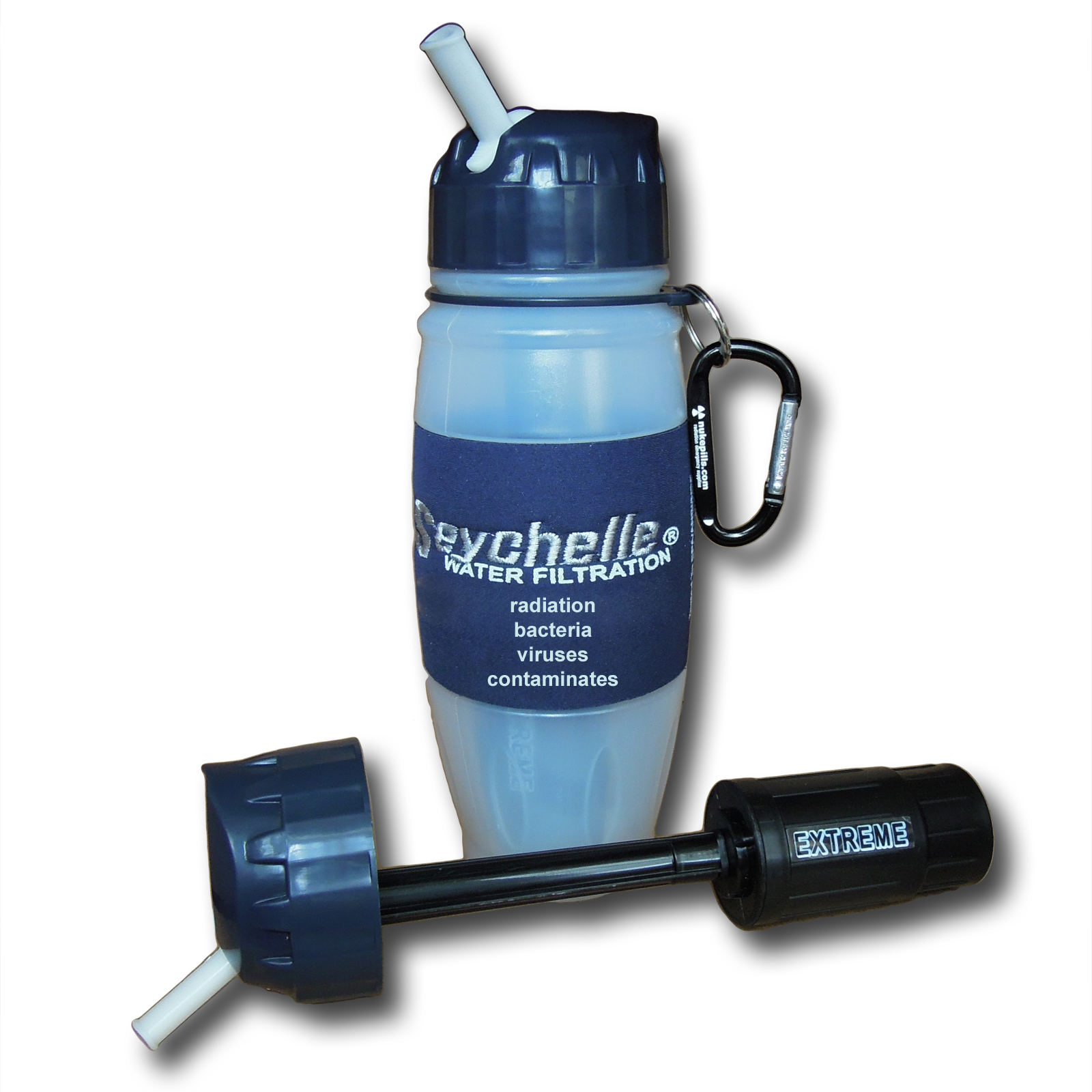 Seychelle Extreme Water Filtration Products