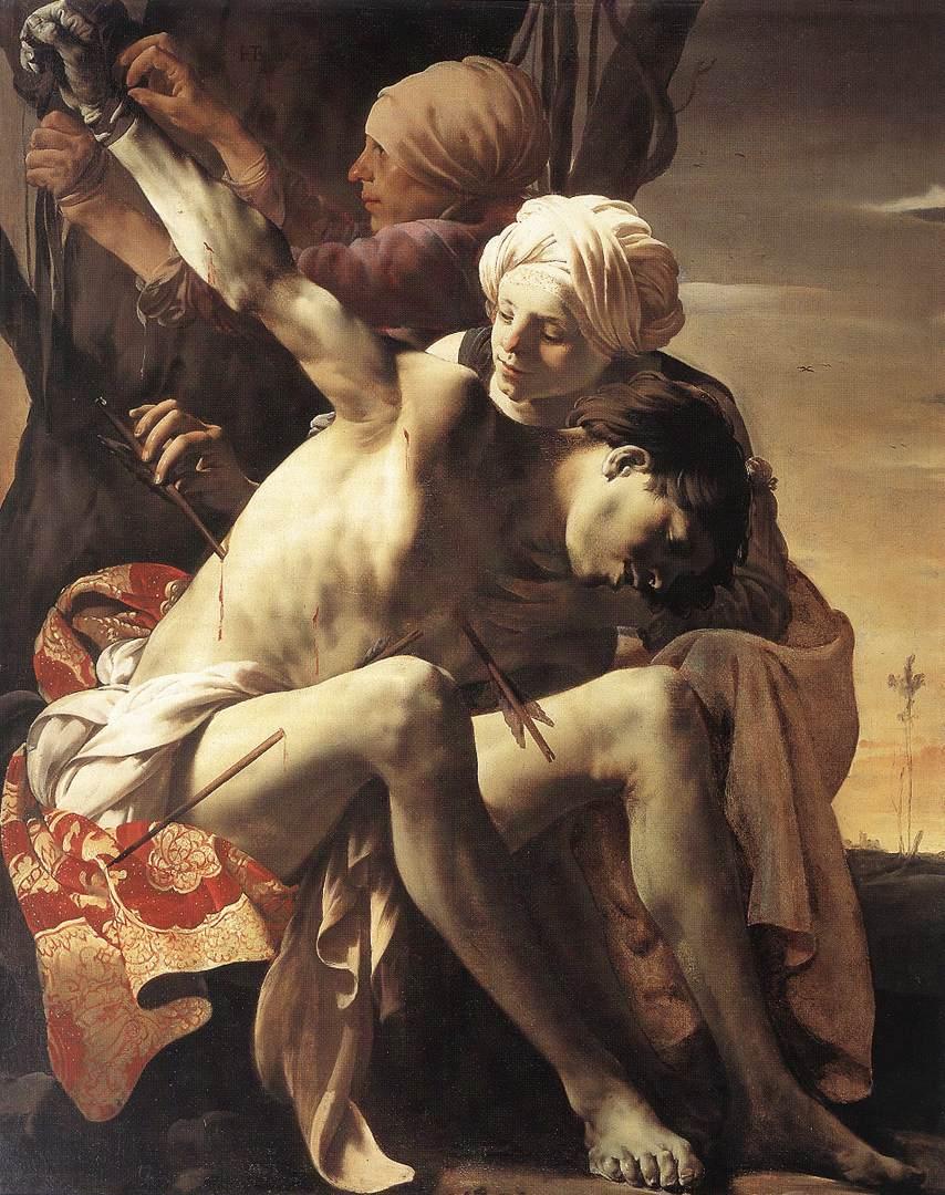 Este santo lutou at a morte