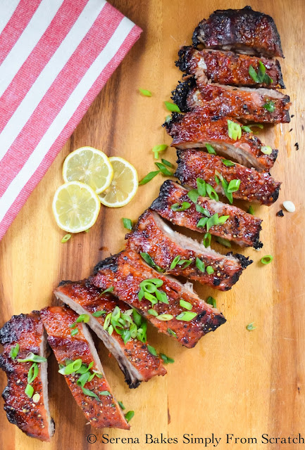 Sticky Sweet and Sour Pork Baby Back Ribs
