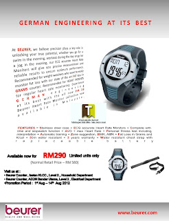 Beurer Heart Rate Monitor Sale 2012