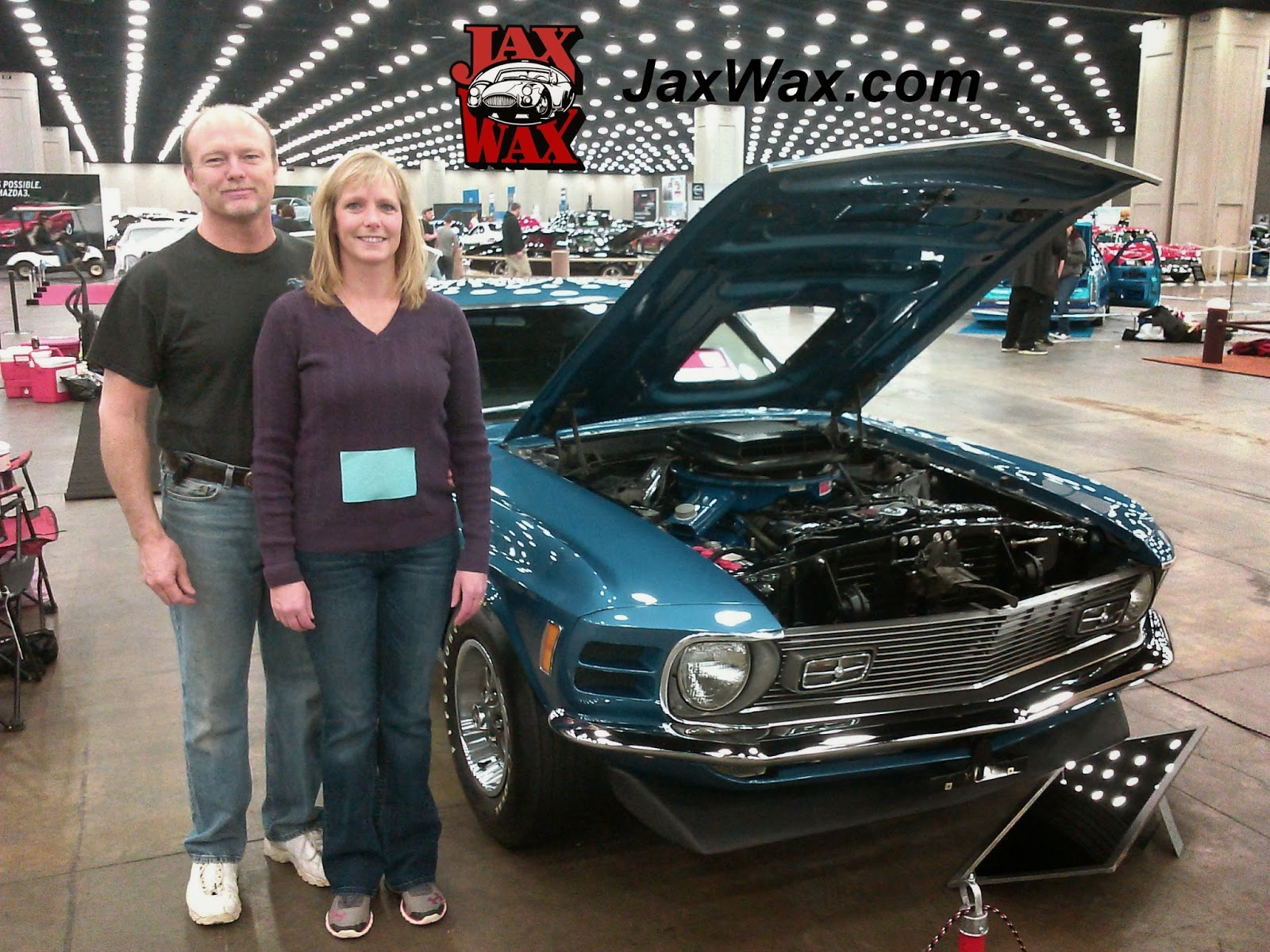 1970 Ford Mustang Mach1 Carl Casper Auto Show Jax Wax Customer