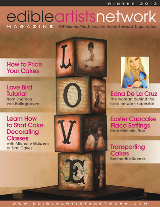 Featured in Edible Artist Network Magazine