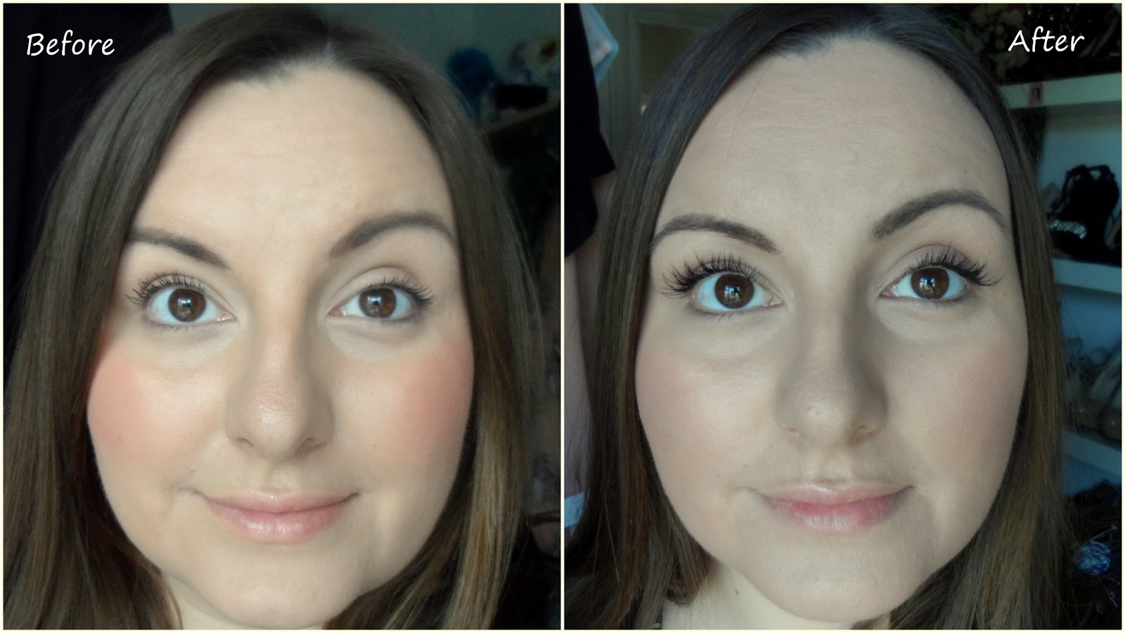 Nouveau Semi Permanent Lashes Before And After Review Flutter And