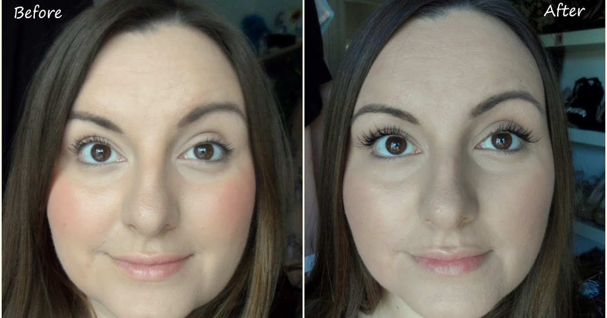 nouveau semipermanent lashes before and after review