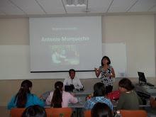 ANTONIO MORQUECHO EN CONFERENCIA EN EL TECNOLOGICO DE MONTERREY