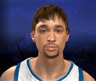 NBA 2K14 Alexey Shved Cyberface Mod
