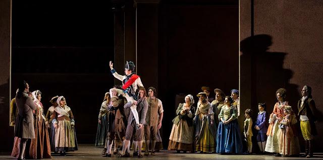 Samantha Korbey (Chereubino) - Mozart's Le nozze di Figaro at Teatro Regio Torino directed by Elena Barbalich, photo Ramella&Giannese (c)Teatro Regio Torino