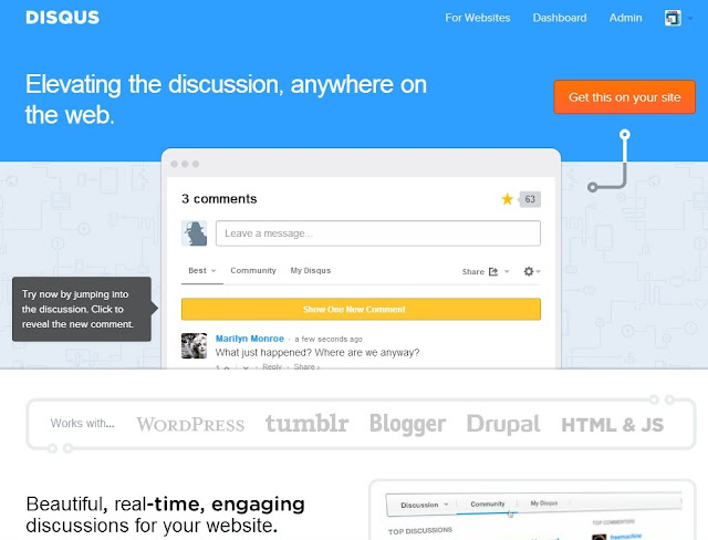 log on to disqus the geek solutions