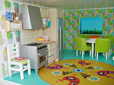 Dolls house makeover: The kitchen