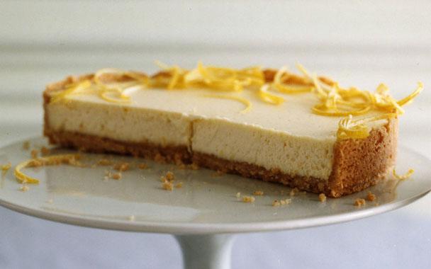 CULINÁRIA DA MEG: Cheesecake Rápido de Limão
