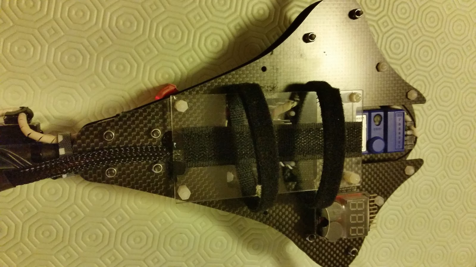 Tracer Fpv Tricopter Racer Project January 2016 Openpilot Cc3d Wiring Diagram The Round Tube Is In Place To Avoid Object Etc Enter Body Of It Allows See Leds And Have Separate Screws For Protection