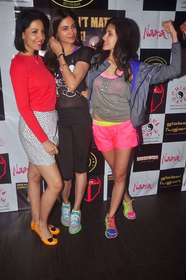 Sucheta Sharma & Harrison James' bash for MFT fitness
