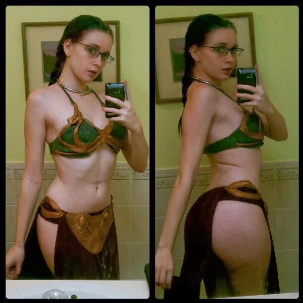 selfie girl Star wars