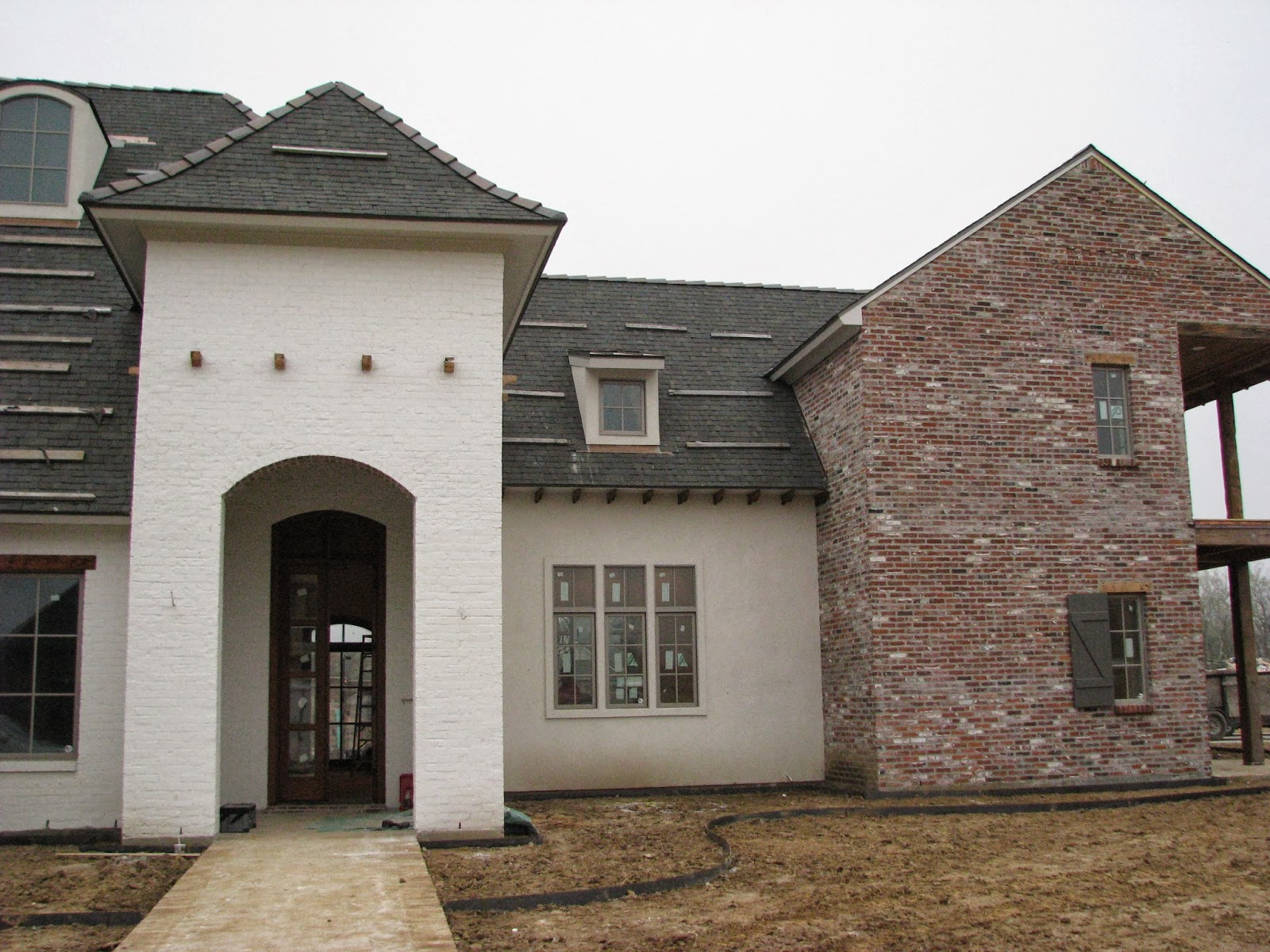 2014 lafayette parade of homes house under construction for Custom home builders lafayette la