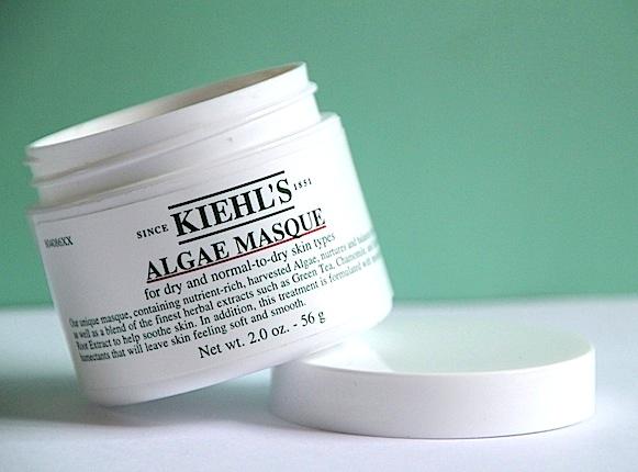 kiehl's algae masque hydratant noutritif test avis