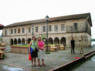 Aduana Real, Portobelo, Panamá, round the world, La vuelta al mundo de Asun y Ricardo, mundoporlibre.com