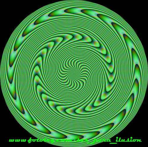 Ilusion Optica Con Movimiento