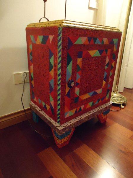 Vintouch muebles reciclados pintados a mano mueble - Disenos muebles pintados ...
