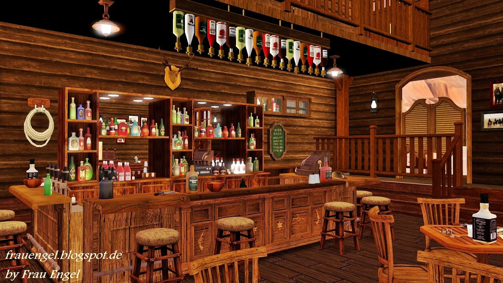 My Sims 3 Blog Saloon In The Wild West By Frau Engel
