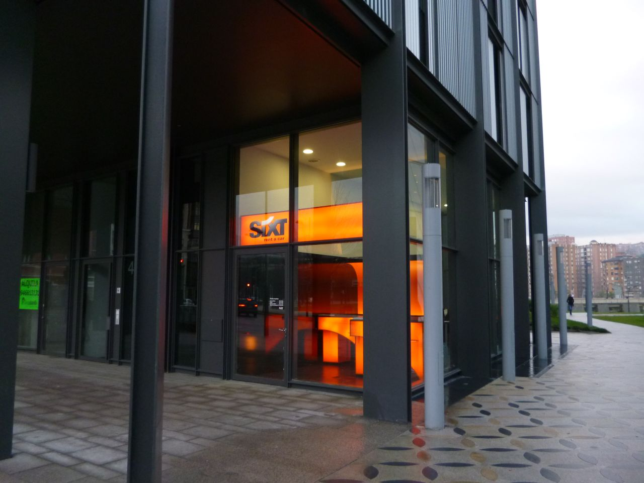 Revista coche sixt inaugura oficinas en bilbao - Oficinas en bilbao ...