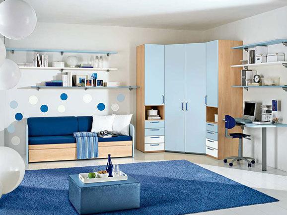Dormitorios para chicas adolescentes en azul dormitorios Dormitorios adolescentes