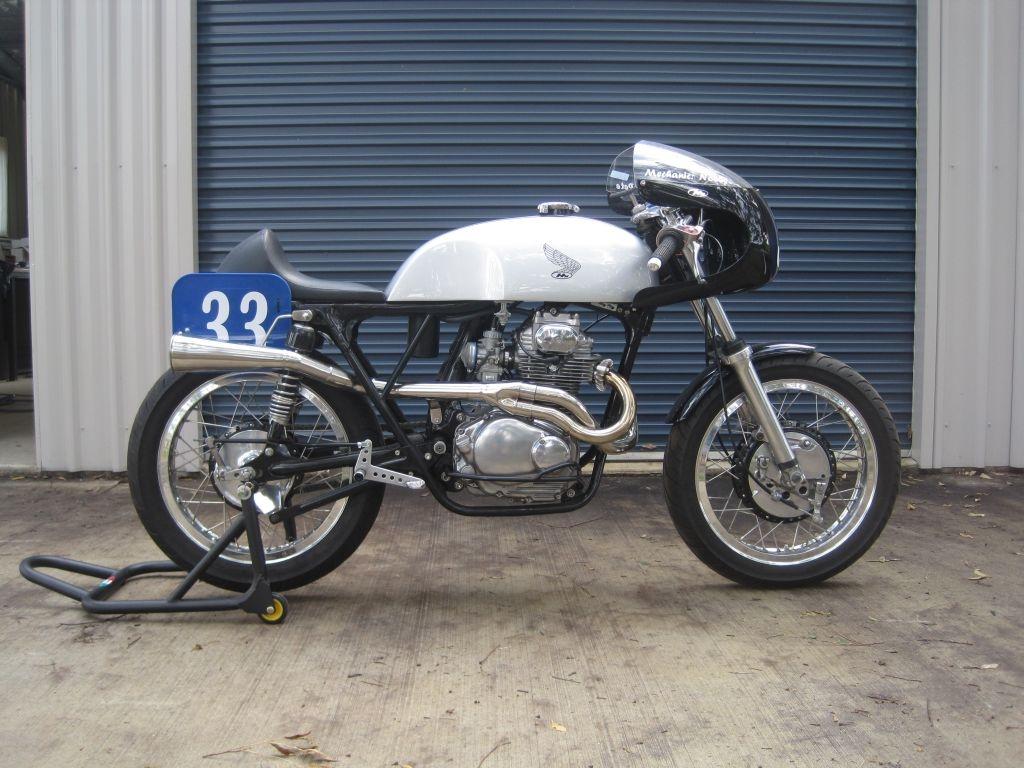 Cafe Racer Exhaust Australia